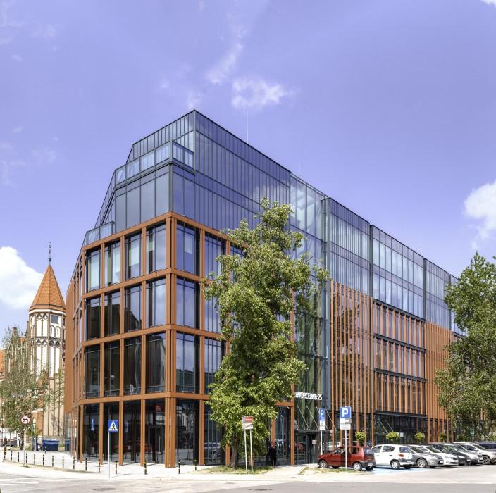 Budynek biurowo - usługowy Dworcowa 25