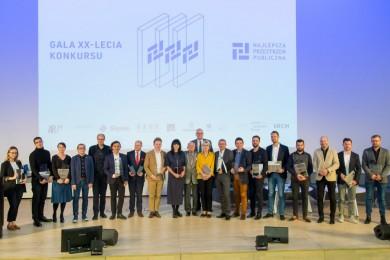 Gala XX-lecia konkursu Najlepsza Przestrzeń Publiczna / fot. Tomasz Żak / UMWS